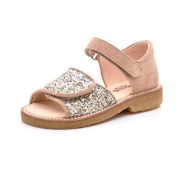 feba9565dca4 Angulus sandal glimmer nude