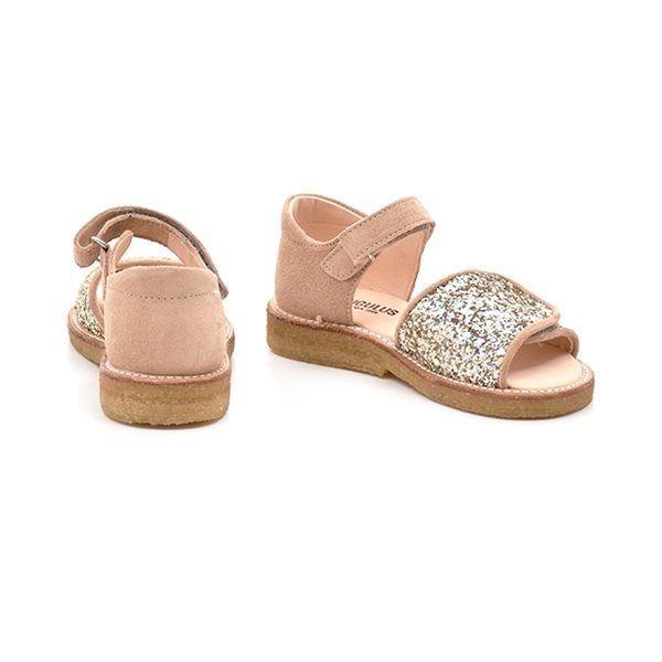 08434636335 Angulus sandal glimmer/nude