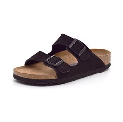 Birkenstock Arizona ruskind sort