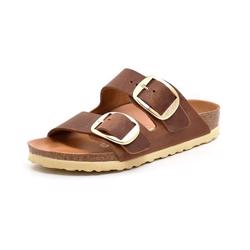 Birkenstock Arizona Big Buckle cognac