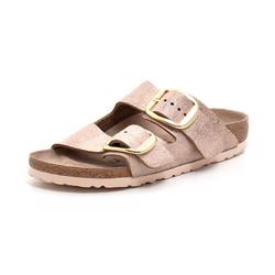 Birkenstock Arizona Big Buckle gold/rose