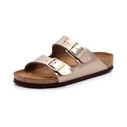 Birkenstock Arizona metallic taupe