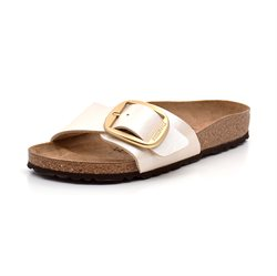 Birkenstock Madrid Big Buckle pearl