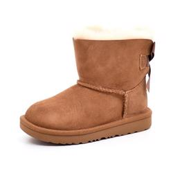 UGG Kids Short Bailey Bow chestnut