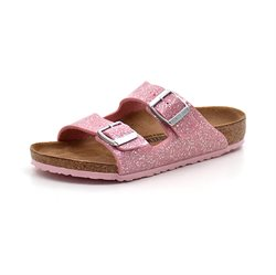 Birkenstock Arizona kids Cosmetic glimmer/pink