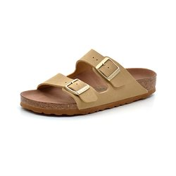 Birkenstock Arizona Vegan latte cream