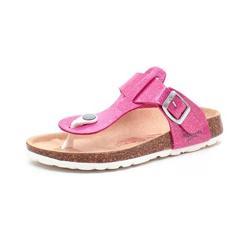 be352d5a2f5 Superfit Fussbett tå-sandal glimmer/pink