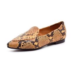 Billi Bi loafer snake karry/sort