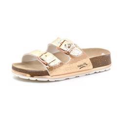 Superfit Fussbett sandal metallic bronze