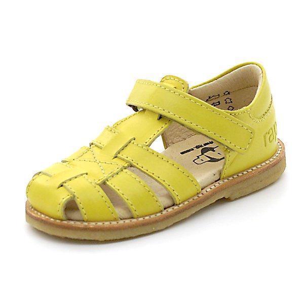 512dafb202f Arauto RAP klassisk lukket sandal i gul