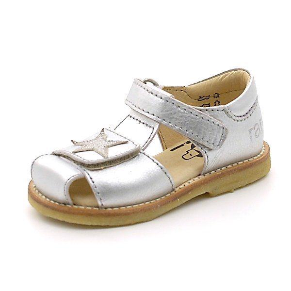 885fd47edd0 Arauto RAP lukket sandal m. stjerne sølv (SMAL)