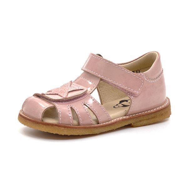 7ac15f6e9d0 Arauto RAP lukket sandal m. stjerne nude lak (SMAL)