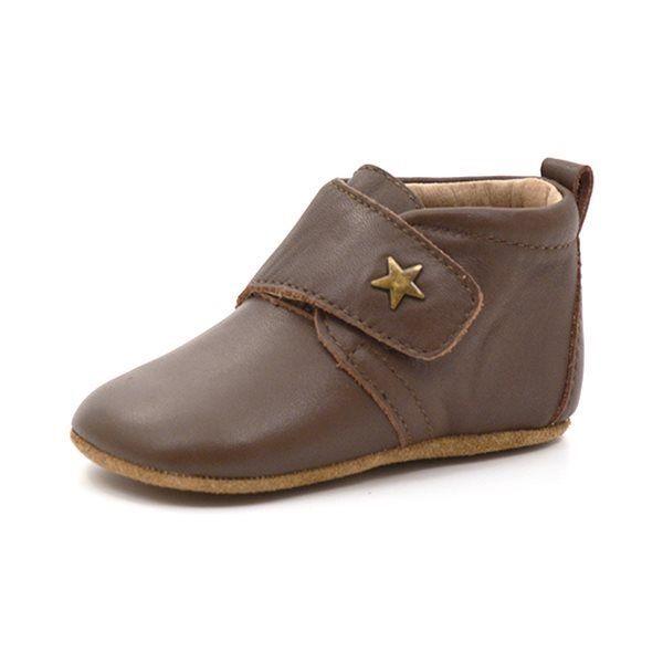 450407ebe095 Bisgaard sutsko med lille stjerne brun