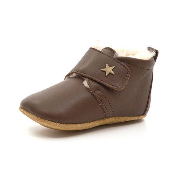 a795b0267e9d Bisgaard sutsko med lille stjerne foer brun