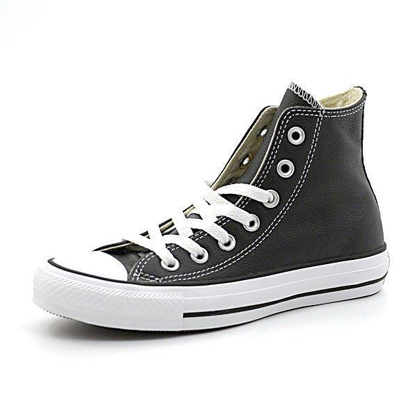 Converse, 132170C, Chuck Taylor All Star Leather High, Black