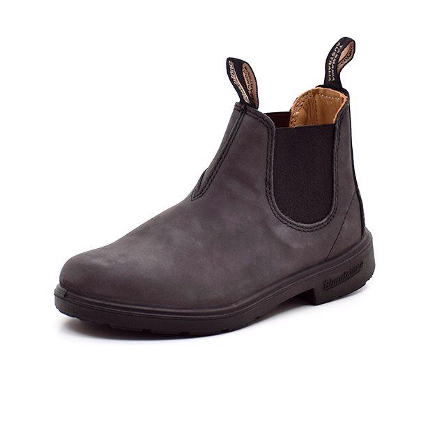 Blundstone chelsea støvle rustik sort - spirekollektion