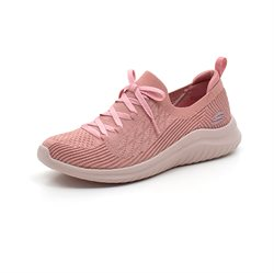 Skechers Womens ultra Flex sneaker rosa