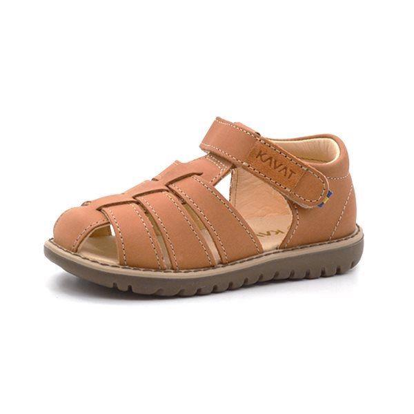 Kavat Hällevik sandal lys brun