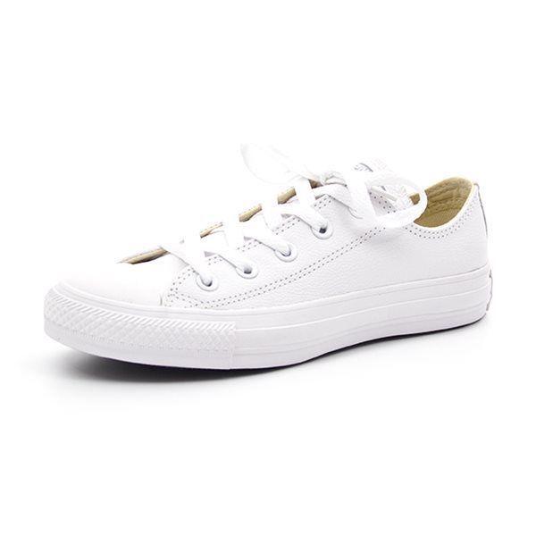 791b2dc70ead Converse All Star OX hvid læder