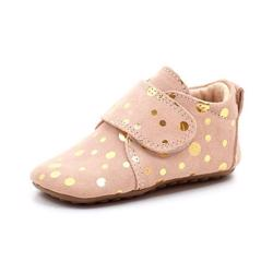 Pom Pom sutsko peach/gold dots