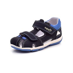 SuperFit Freddy drengesandal sort