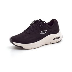 Skechers Womens arch fit sneaker sort