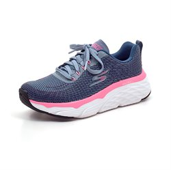 Skechers Womens Max Cushioning sneaker rose/blå