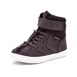Hummel Splash Mid JR TEX vintersneaker sort/grå