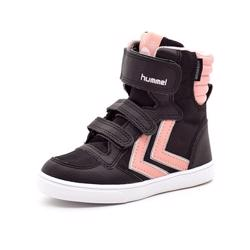 Hummel Stadil Super Poly TEX Boot JR vintersneaker rosa/sort