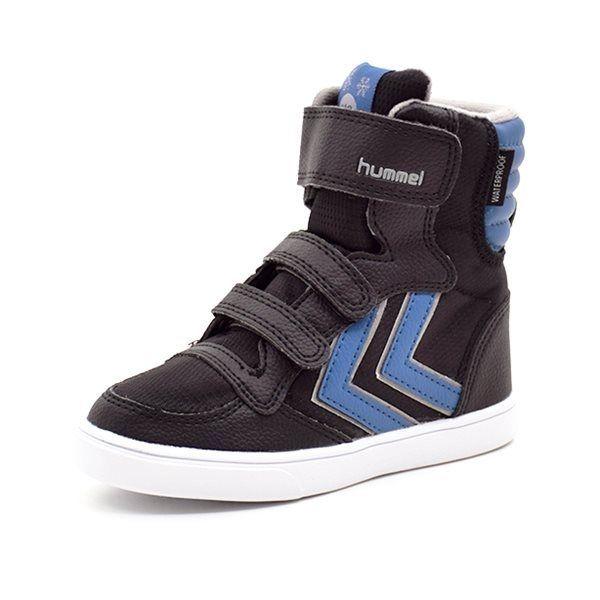 686f5aa80eea Hummel Stadil Super Poly TEX Boot JR vintersneaker blå sort