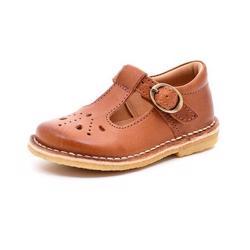d843e5bd Bisgaard ECO sko m.mønster cognac