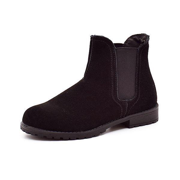 Rugged Gear Chelsea boot ruskind sort