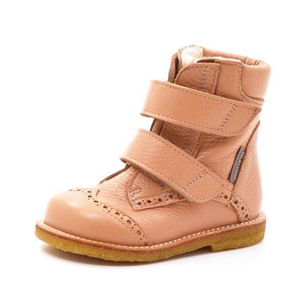 c241f86d775 Angulus TEX-støvle m. velcro lys gammel rosa