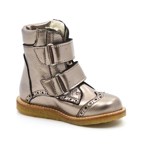 022e700246b - Angulus TEX-støvle m. velcro bronze (SMAL)