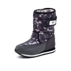 Hummel Reflex Winter Boot Jr grå/sort camouflage