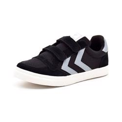 Hummel Stadil Canvas low sneaker JR sort