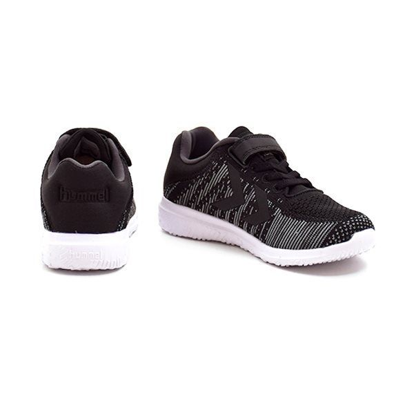 9972d628eae Hummel Actus Knit JR sneaker grå/sort