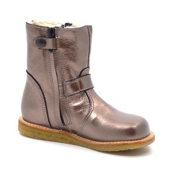 dbcc55c1044 Angulus TEX-støvle m. spænder bronze