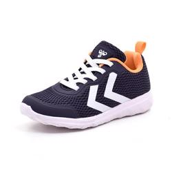 Hummel Actus BTS JR sneaker navy/orange