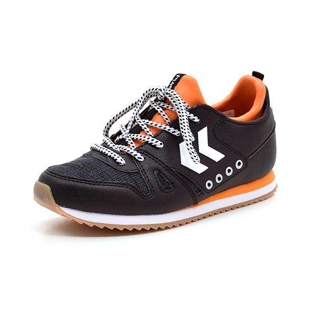 Hummel Marathona boy BTS sneaker sort/orange
