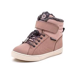 Hummel Splash Oiled JR TEX vintersneaker rosa
