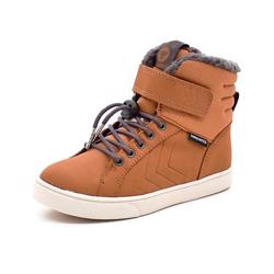 Hummel Splash Oiled JR TEX vintersneaker cognac