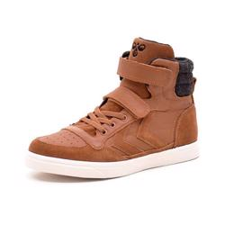 Hummel Stadil Winter High JR vintersneaker cognac