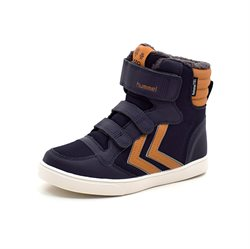 Hummel Stadil Super Poly TEX Boot mid JR vintersneaker navy