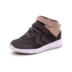 Hummel Crosslite Winter Mid JR Tex-sneaker grå/rosa