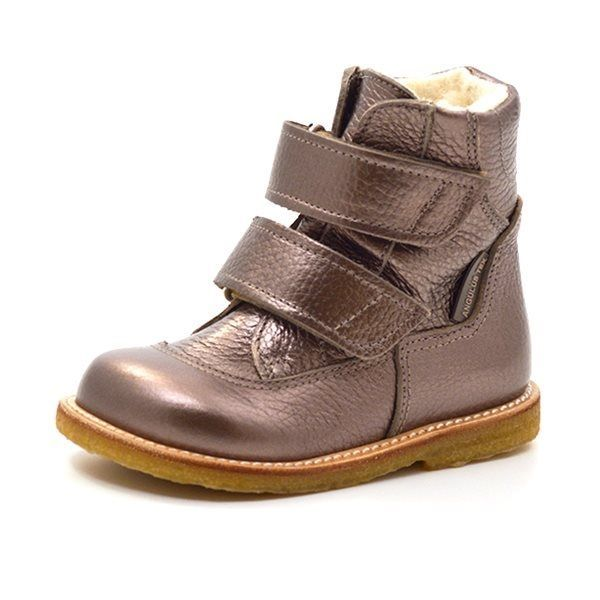 bbad538ce5c Angulus TEX-støvle m. velcro bronze