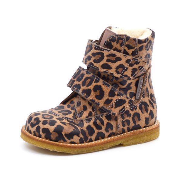 433891efaaf5 Angulus TEX-støvle Leopard