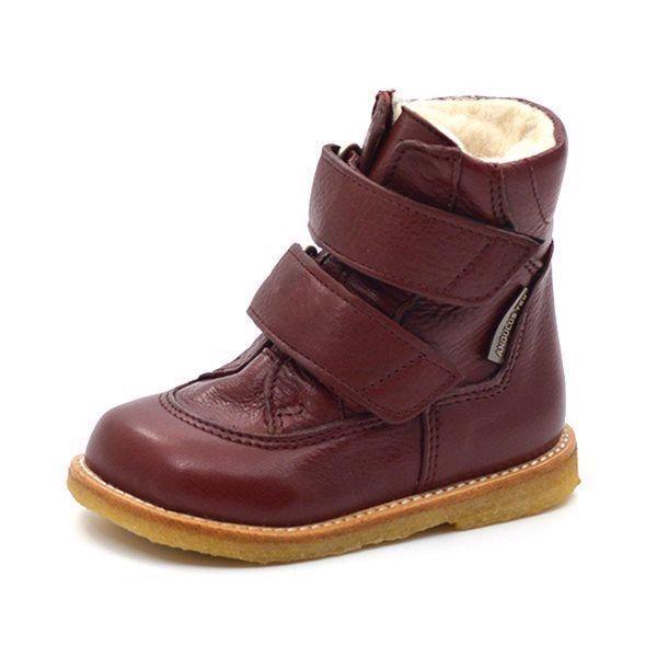 c81f1f5e4b4 Angulus TEX-støvle m. velcro bordeaux