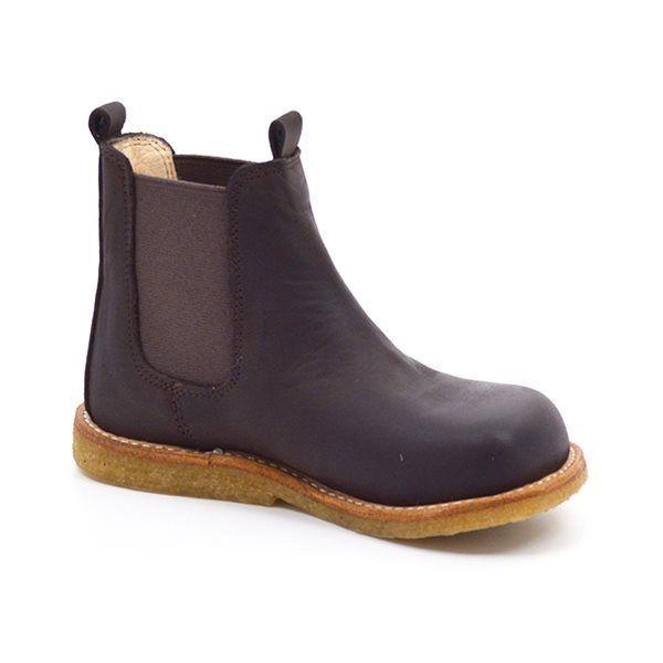 d1df8a9e5ef6 Angulus elastik støvlet brun