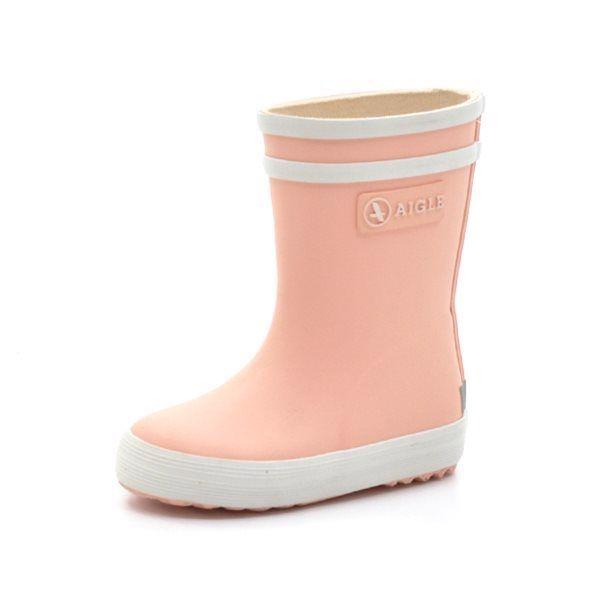 b745d2e7e6fb4 Aigle Baby Flac gummistøvle rosa